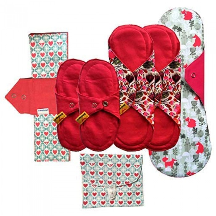 Stonesoup Petals Period Starter Kit - Set Of 6 Washable Cloth Pads