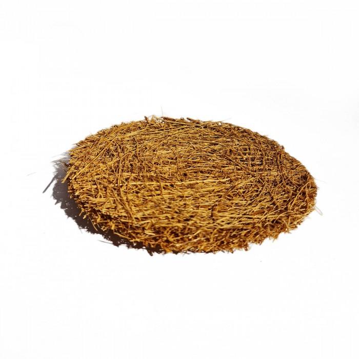 Goli Soda Natural Coconut Coir Round Stitched Dishwashing Scrub Pads - Pack of 6 Scrubs