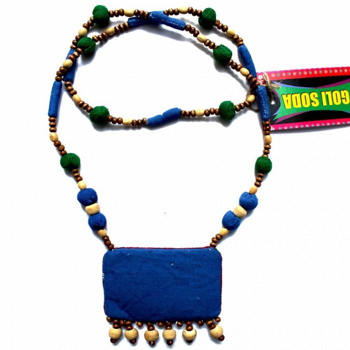 Porgai 2*3 Necklace-Fabric