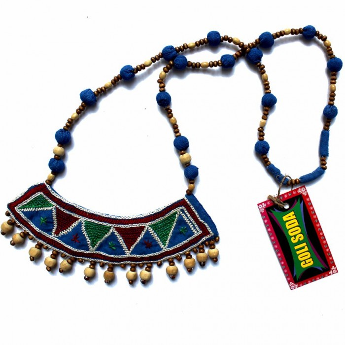 Porgai Jula Necklace-Fabric