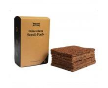 Goli Soda - Natural Coconut Coir Dishwashing Scrub Pads - Pack Of 6 Scrubs - Biodegradable - Eco Friendly