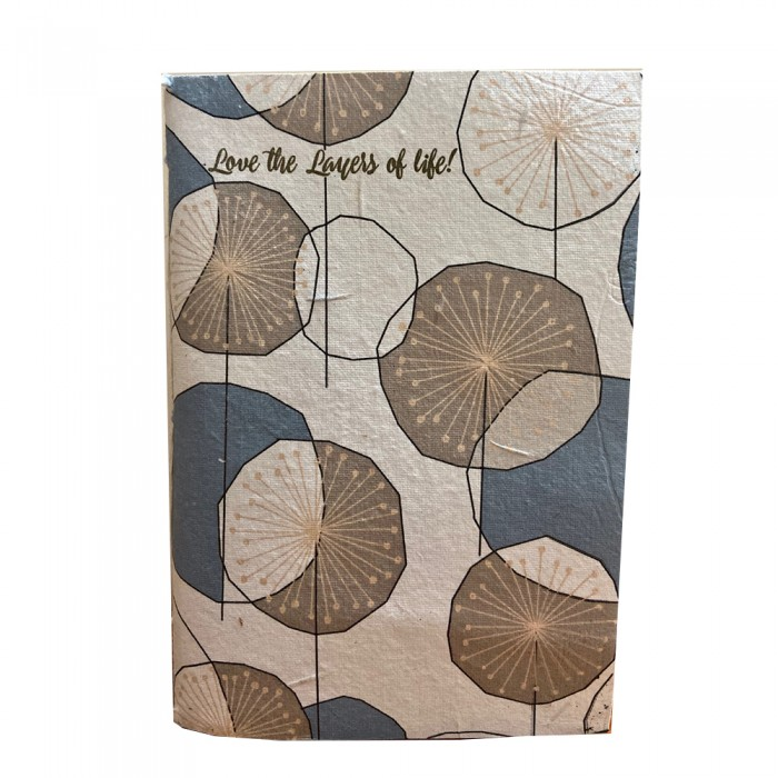 DoodleBar Sustainable DIY Journal Notebook - Love