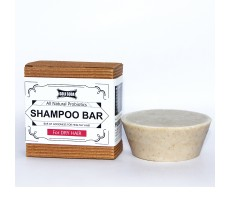 Goli Soda - Probiotics Sulphate Free Shampoo Bar For Dry Hair 90 gm - All Natural / Biodegradable / Non Toxic / Cruelty Free / Palm Oil Free