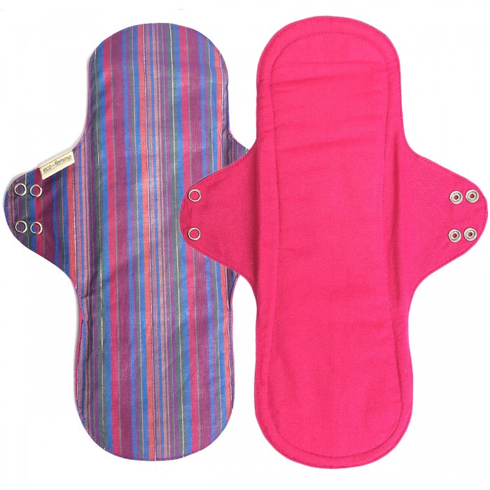 Eco Femme  GOTS Certified 1 Super Comfy - Reusable Sanitary Pads / Cloth Menstrual Pads / Washable Cloth Pads