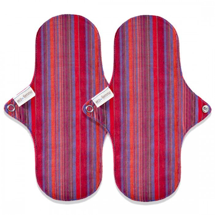 Eco Femme GOTS Certified Vibrant Organic Day Pad - Twin Pack