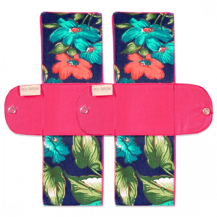 Eco Femme - GOTS Certified - Foldable Pad - Twin Pack