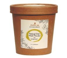 Mitti Se Natural Dish Wash Powder - Safe, Biodegradable (400 g)