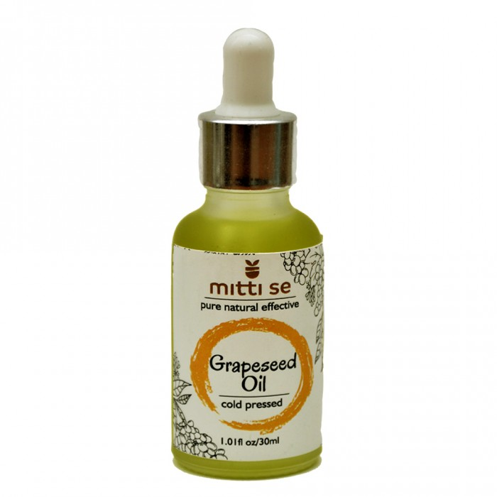 Mitti Se Grapeseed Oil - Cold pressed (30 ml)