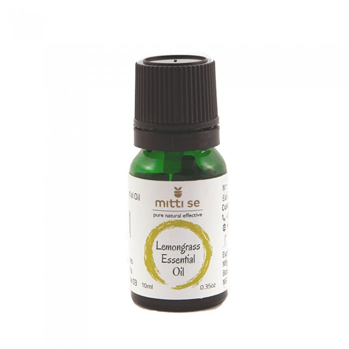Mitti Se Lemongrass Essential Oil (10 ml)