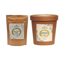Mitti Se Natural Dish Wash Powder (400 g) and Laundry Detergent (400g)