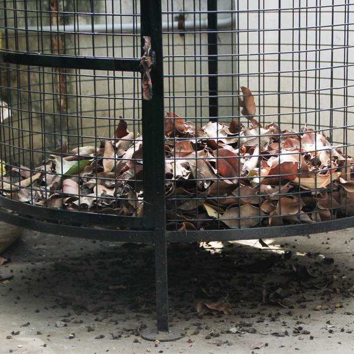 "Daily Dump Metal Leaf Composter 32"" Dia"