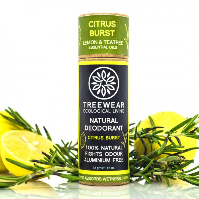 TreeWear Citrus Burst Natural Deodorant 30gm