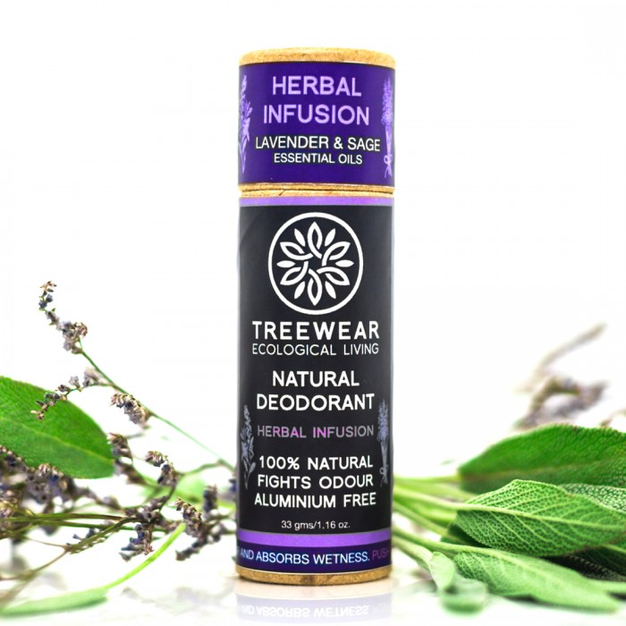 TreeWear Herbal Infusion Natural Deodorant 30gm