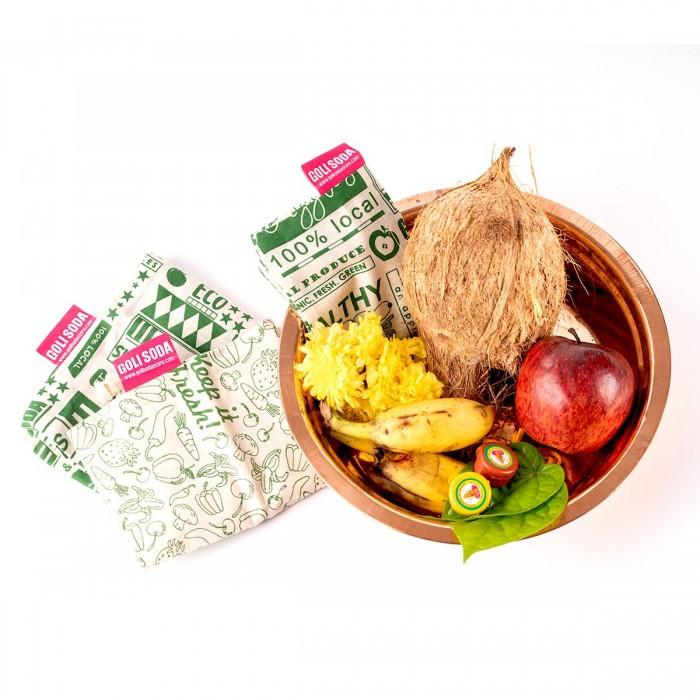 GOLI SODA Keep It Fresh Thamboolam Bag ( Set Of 4) - Medium