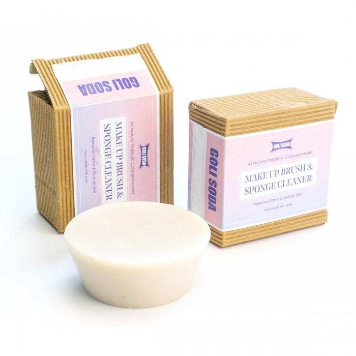 GOLI SODA Probiotic Makeup Brush and Sponge Cleaner Soap (Pack Of 2)
