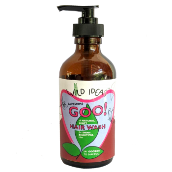 Wild Ideas Awesome goo! All Natural Leafy Hair Wash - Dispenser Bottle (Pack of 1)