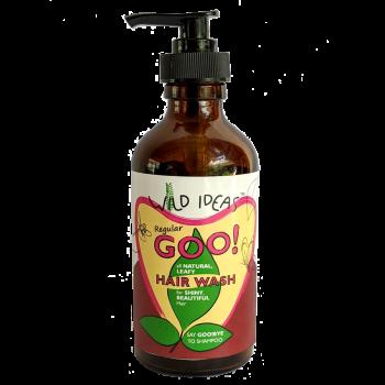 Wild Ideas Regular goo! All Natural Leafy Hair Wash - Dispenser Bottle (Pack of 1)