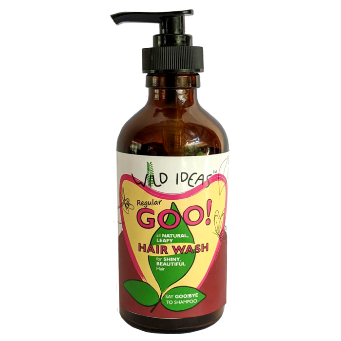 Wild Ideas Regular goo! All Natural Leafy Hair Wash - Dispenser Bottle (Pack of 1)