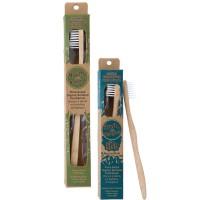 Goli Soda - Adults And Kids Bamboo Toothbrush Combo - Pack of 2 - USDA Certified 100% Organic Bamboo, BPA Free, Vegan, Verified Non-Toxic, Biodegradable, Eco Friendly