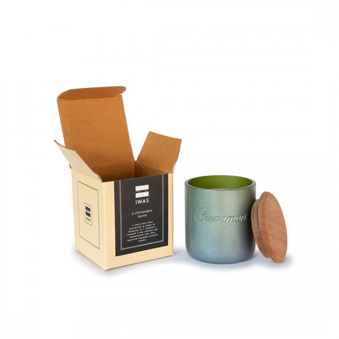 IWAS Cinnamon Scented Organic Candle