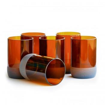BÔTL Small Auburn Drinking Glasses - 300 ml (Set Of 6)