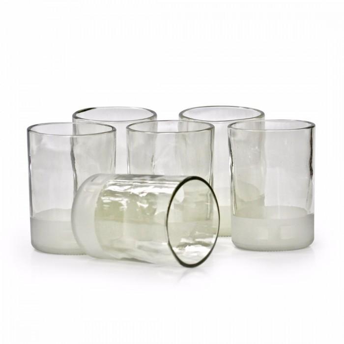 BÔTL'S Small Clear Drinking Glasses - 300 ml (Set Of 6)