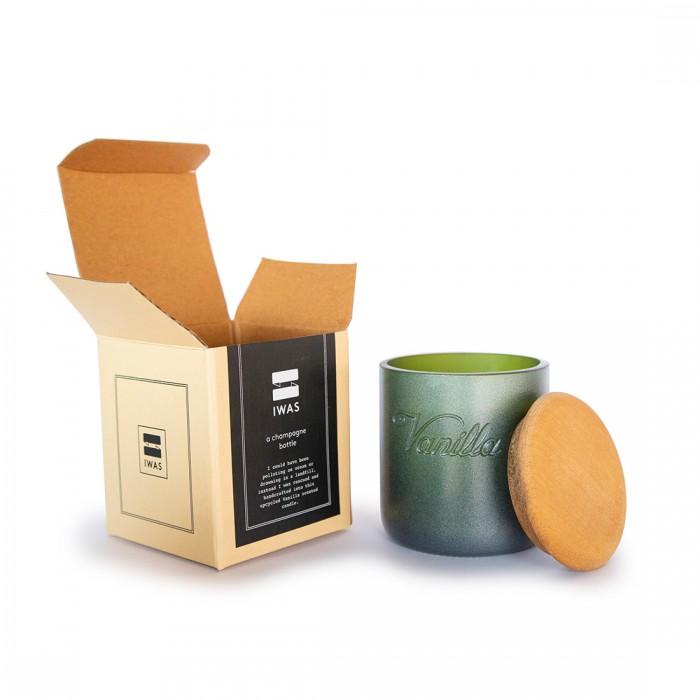 IWAS Vanilla Scented Organic Candle
