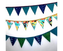 Oh Scrap! Bunting Flags (Set Of 6)