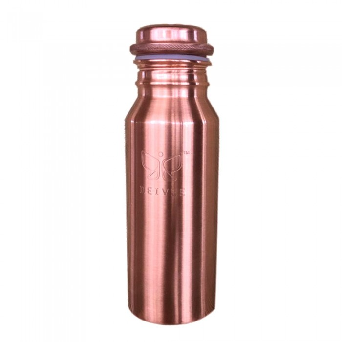 Deivee Copper Bottle - Printed logo small/Engraved logo Small