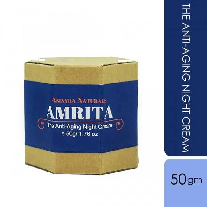 Amayra Naturals -Amrita - Night Cream - 50g