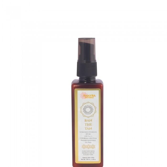 AMAYRA NATURALS Ban The Tan - Sunscreen HydroGel - 100 ml