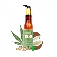 Amayra Naturals Fit Skinology Hemp Seed Oil+Rosemary+Mint Sulphate Free Shampoo | 200ml