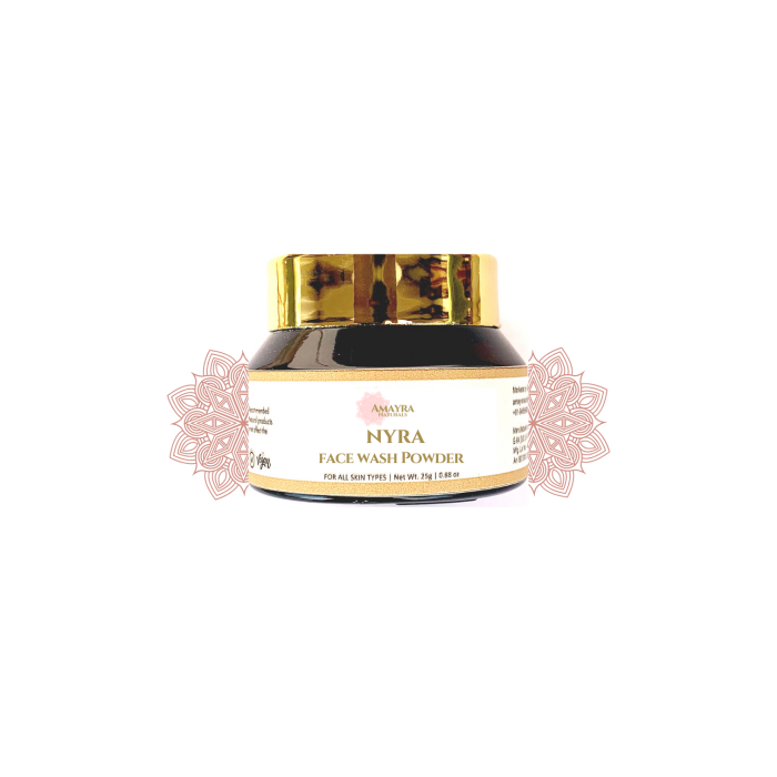 Amayra Naturals Nyra Face Wash Powder - 25gm