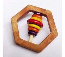 Ariro Hexagon Rattle