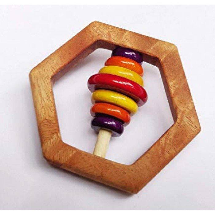 Ariro Hexagon Rattle