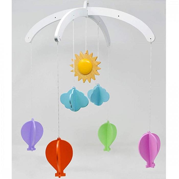Ariro Wooden Mobile - Hot Air Balloon