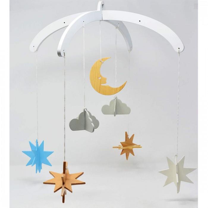 Ariro Wooden Mobile - Night Sky
