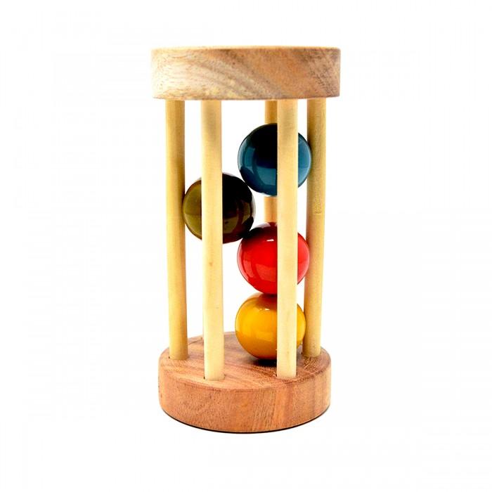 Ariro Wooden Rolling Rattle