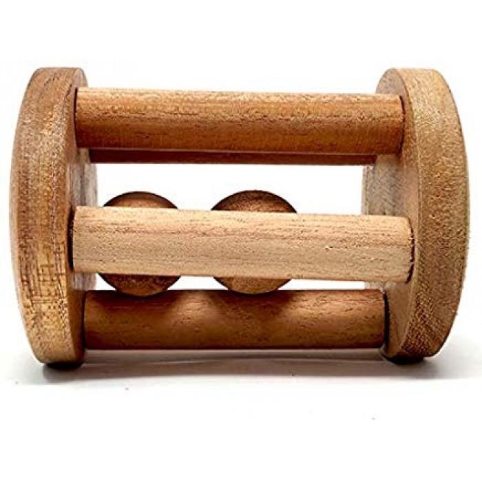 Ariro Tumbler Rattle With Wooden Ball