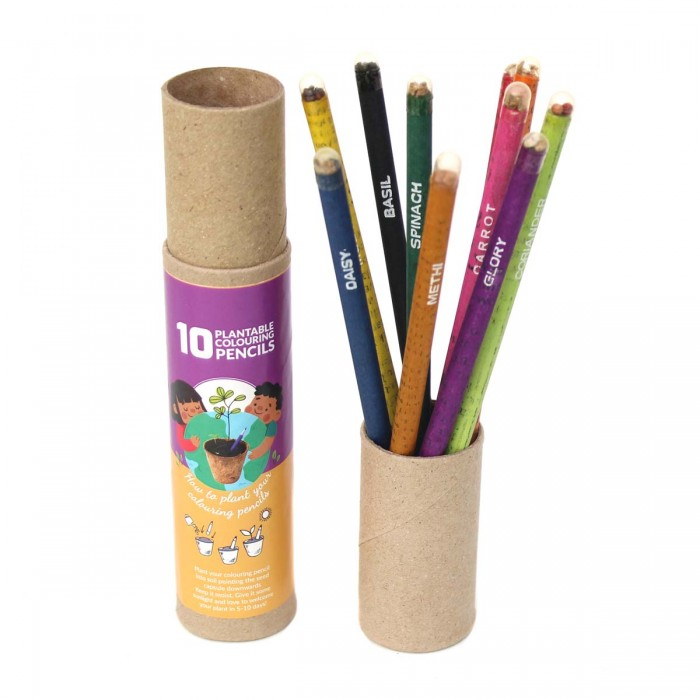Bunpai Plantable colour pencils - 10 colours