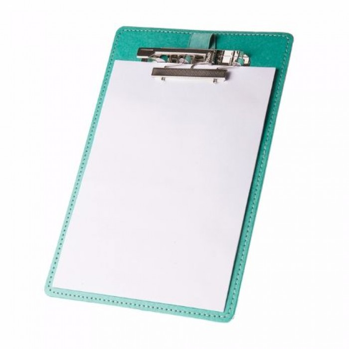 Eco Leatherette Handcrafted  A-5 Clipboard - Recycled Cotton