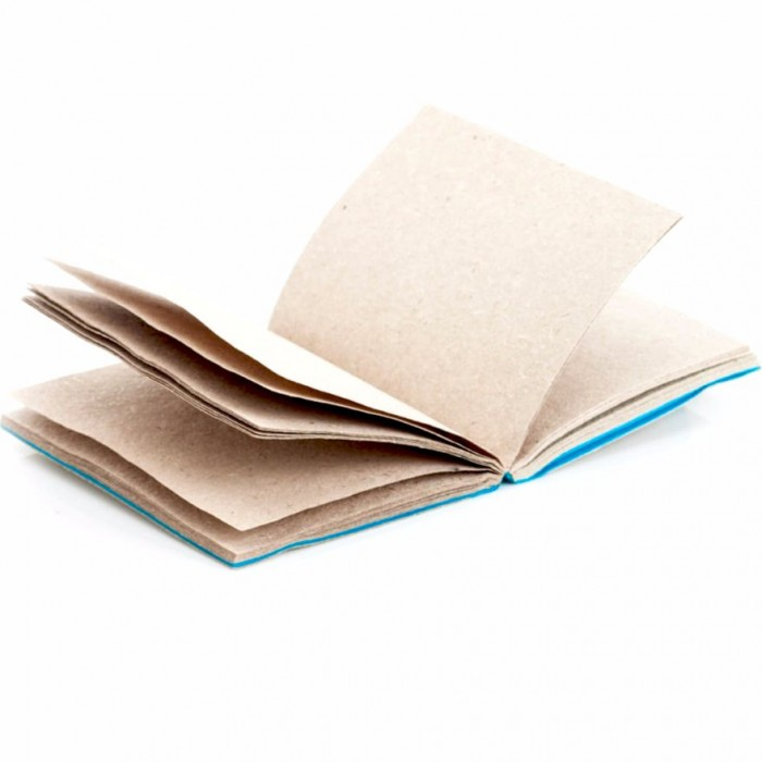 Haathi Chaap Ele Elastic Travel Diary/ 48 pages - Elephant Poo Paper & Handmade Cotton Paper