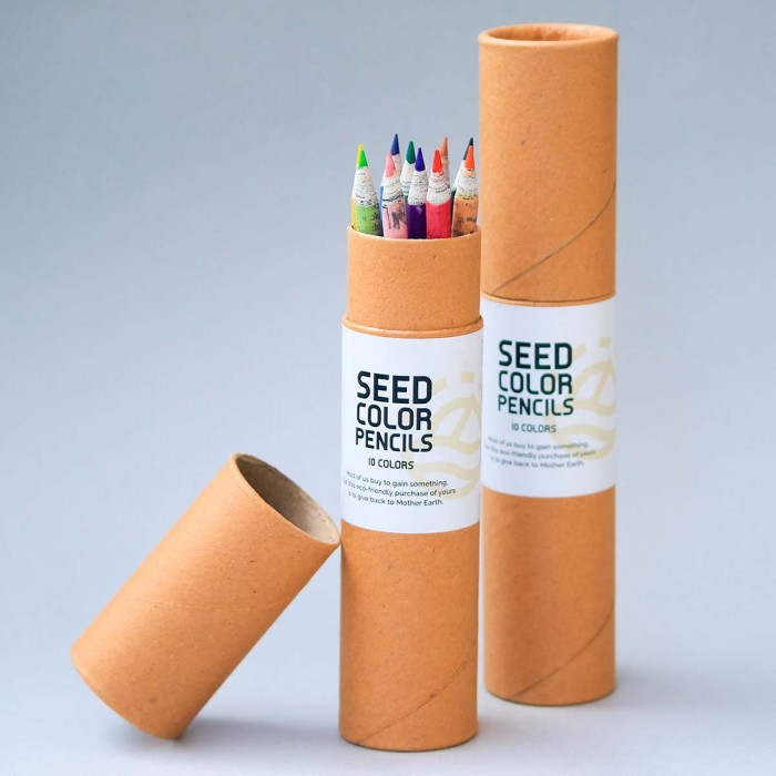 For Earth's Sake Eco-friendly Color Pencils
