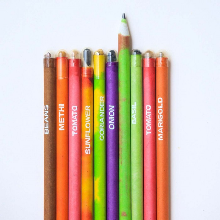 For Earth's Sake Plantable Seed Pencil - Pack of 10
