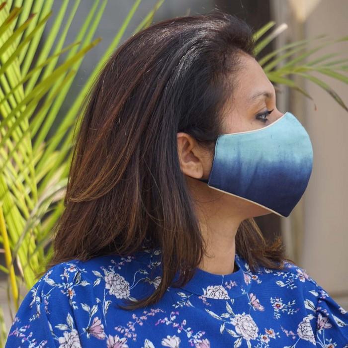 Mayannk Poppy Head  Face Masks