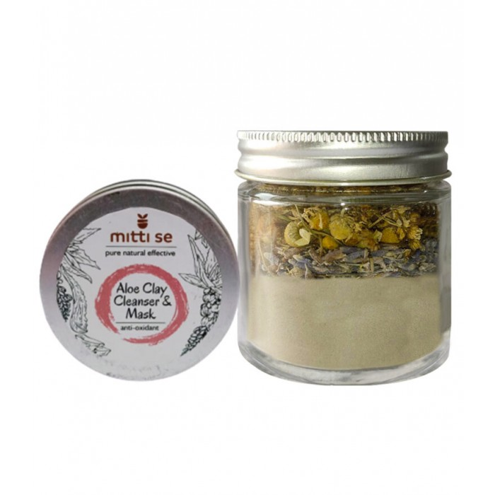 Mitti Se Aloe Clay Cleanser & Mask (60 gm)