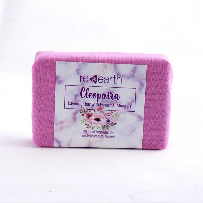 Re Earth Cleopatra Natural Soap