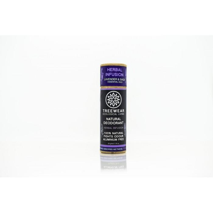 TreeWear Herbal Infusion Natural Deodorant 30gm