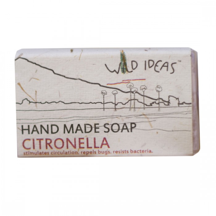 Wild Ideas Hand Made Soap - Citronella (Pack Of 2)