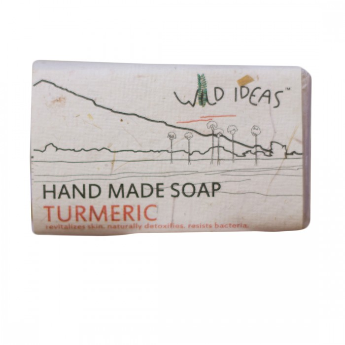 Wild Ideas Hand Made Soap - Turmeric (Pack Of 2)